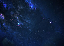 Star field in  deep space Royalty Free Stock Images
