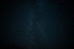 Star field in  deep space many light years far Stock Photos
