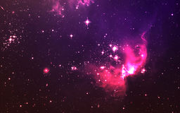Star field in deep space many light years far from the Earth. Elements of this image furnished by NASA Stock Image