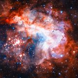 Star field and nebula in deep space. Elements of this image furnished by NASA royalty free stock images