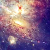 Star field and nebula in outer space. Elements of this image furnished by NASA royalty free stock photos