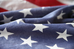 Star field of USA flag Stock Photography
