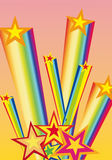 Star firework Royalty Free Stock Images