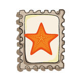 Star fish isolated icon. Illustration design Stock Photography