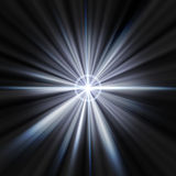 Star flare Royalty Free Stock Photo