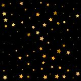 Star flicker. night magic. celebration. falling stars - Vektorgrafik royalty free illustration