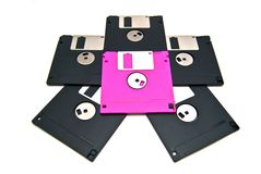 Star of the floppy Stock Images