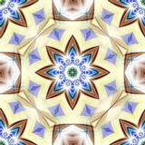 Star Flower Abstract Royalty Free Stock Image