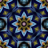 Star Flower Abstract Stock Photo