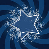 Star Flower design Royalty Free Stock Images