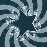 Star Flower design Stock Images