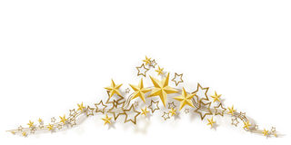 Star frame. Illustration of a star frame Royalty Free Stock Photography