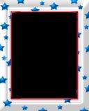 Star Frame. Computer generated US flag star frame Royalty Free Illustration
