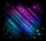 Star frame background Royalty Free Stock Photos