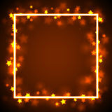 Star Frame Border Royalty Free Stock Images