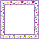 Star frame Royalty Free Stock Image