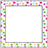 Star frame Royalty Free Stock Photography