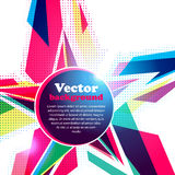 Star frame for your text. Abstract background. Vector Illustration of Star frame for your text. Abstract background Stock Photo
