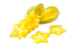 Star fruit or Carambola Stock Photos