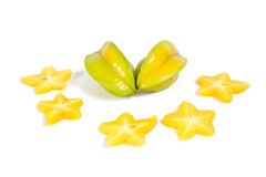 Star fruit or Carambola Royalty Free Stock Photography