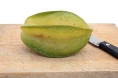 Star fruit - carambola. On white background Stock Photo