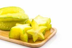 Star fruit or Carambola. Royalty Free Stock Photos
