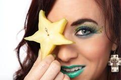 Star Fruit Eye Stock Photos