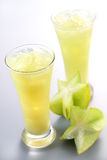 Star Fruit Juice Royalty Free Stock Photos
