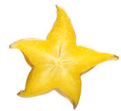 Star fruit slice Stock Photos