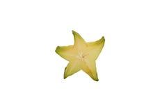 Star fruit. On white background Stock Photography