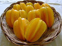 Star fruits royalty free stock photography