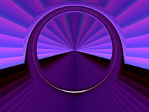 Star gate. High technology star gate abstract background.Portal or door-way concept .Good design element for high tech , industrial or SCI-FI projects stock illustration