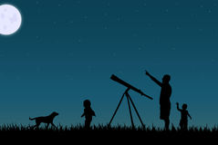Free Star Gazing Stock Photography - 19007472