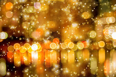 Star glitter and bokeh for Christmas and new year Royalty Free Stock Photography