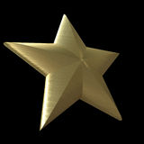 Star of gold Royalty Free Stock Images