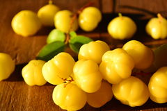 Star gooseberry. Royalty Free Stock Image