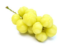 Star gooseberry isolated on white background Stock Photos