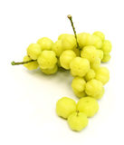 Star gooseberry isolated on white background Royalty Free Stock Photos