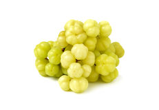 Star gooseberry isolated on white Royalty Free Stock Photography
