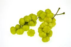 Star gooseberry isolated on white background Royalty Free Stock Photography