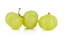 Star gooseberry on white background Royalty Free Stock Images