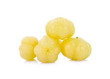 Star gooseberry on white background Stock Photography