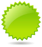 Star green icon Royalty Free Stock Photography