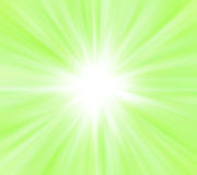 Star with green lights Stock Images