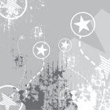 Star on grunge. Background design vector illustration