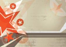Star grunge background design. Star and grunge background design royalty free illustration