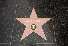 The star of Halle Berry Stock Photo