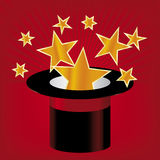 Star hat (vector) Royalty Free Stock Photos