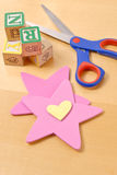Star and Heart Shapes Royalty Free Stock Photos