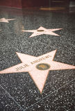 Star of Hollywood Walk of Fame Royalty Free Stock Photography